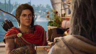 Kassandra is the game's female protagonist