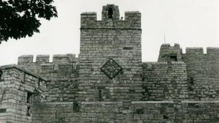 Ancient Castle Rushen clock