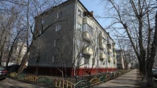 Московская пятиэтажка