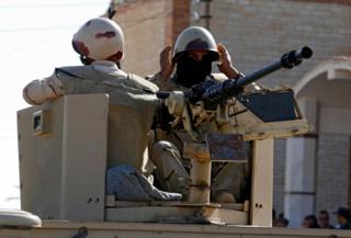 جنود في شمال سيناء