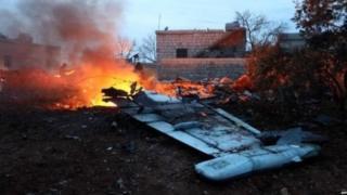 सिरिया विमान अवशेष