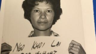 越南华侨吴喜来在香港难民营