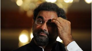 د پاکستان لومړی وزیر شاهد خاقان عباسي