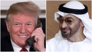 محمد و ترامپ