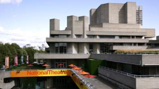 Exterior of the National Theatre
