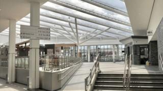 Bolton interchange interior