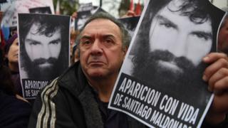 Marcha por Santiago Maldonado.