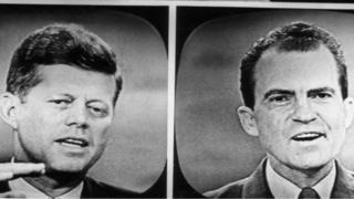 Кенеди и Никсон