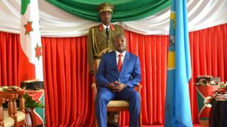 Umukuru w'igihugu c'u Burundi, Pierre Nkurunziza