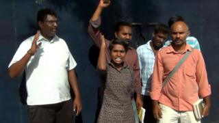 எட்டு வழிச்சாலைத் திட்டம்: மாணவி வளர்மதி பிணையில் விடுதலை