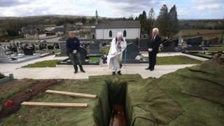 Anne Best was buried without a church ceremony after dying with Covid-19