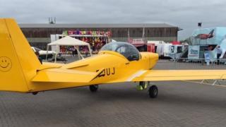 Air show preparations