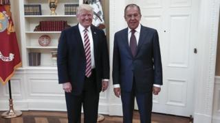 Trump ve Lavrov