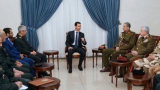 فرماندهان ارشد ایران، عراق و سوریه