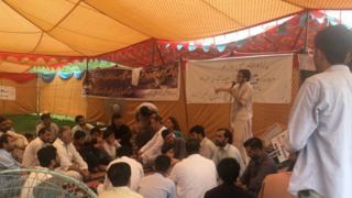 اسلام آباد احتجاجی کیمپ