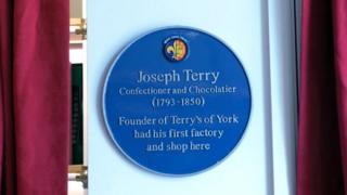 Joseph Terry plaque