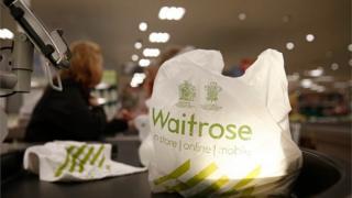 Waitrose shopping bag