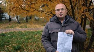 Русскоязычный активист Эдуард Носов