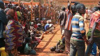 Réfugiés burundais dans un camp en Tanzanie