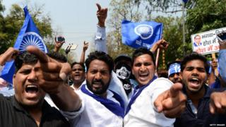 दलित आंदोलन, प्रदर्शन, भारत बंद