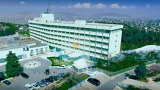 هتل اینترکنتیننتال کابل