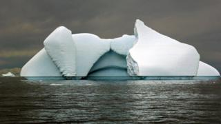 Iceberg, Southern Ocean (Image: BBC)