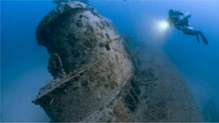 Британская субмарина HMS Stubborn, списанная после Второй мировой и затопленная в 1946 году у берегов Мальты
