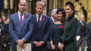 in_pictures The Duke and Duchess of Sussex with the Duke and Duchess of Cambridge