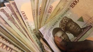 Waa nuqul ka mid ah lacagta waddanka Nigeria ee la sheego in musuqa loo adeegsado