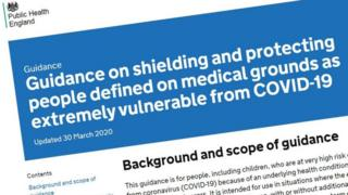 About Covid-19 shielding