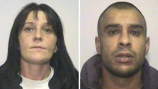 Two sentenced over heroin box