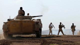 يخوض الجيش العراقي عملية واسعة ضد تنظيم الدولة لطرده من العراق