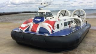 Solent Flyer hovercraft