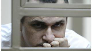 Олег Сенцов під час суду