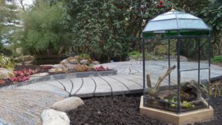 Savage Garden display at Inverewe Garden