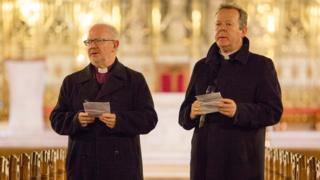 Archbishop Richard Clarke and Archbishop Eamon Martin