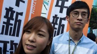 Yau Wai-ching ve Sixtus Leung
