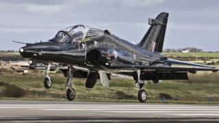 The Hawk T2 Jet is mainly used for training