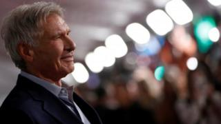 Technology US actor Harrison Ford