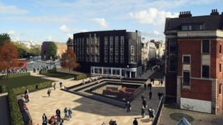 Artist impression of The Beverley Gate