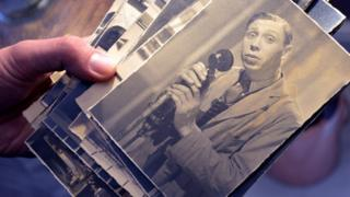George Formby photographs