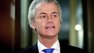 Mgombea wa Uholanzi Geert Wilders