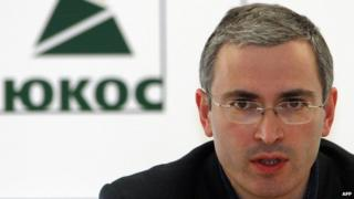 Mikhail Khodorkovsky, file pic