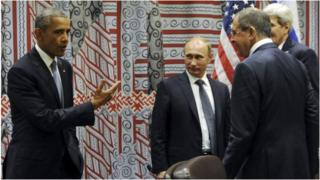 Umubonano wa Obama na Putin i New York mu 2015