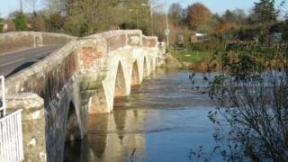 Julian's Bridge in Wimborne Minster