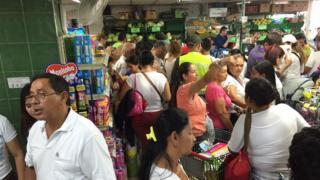 Supermercado en Cúcuta