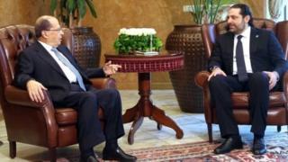 لبنان کے وزیر اعظم اور صدر