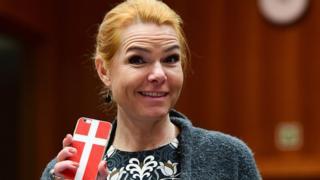 Danish Interior Minister Inger Stojberg