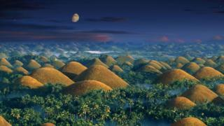 Шоколадні пагорби