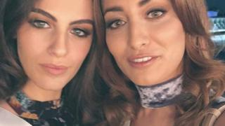 Miss Israel and Miss Iraq
